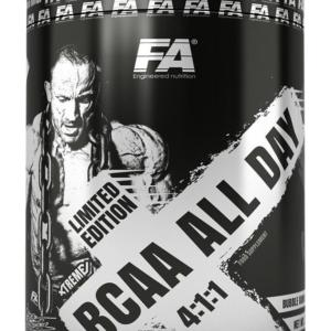 BCAA All Day 4: 1: 1 - Fitness Authority 340 g Bubble Gum