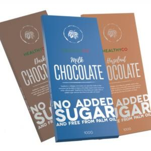 Chocolate - HealthyCo 100 g Hazelnut