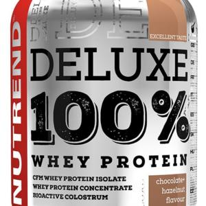 Deluxe 100% Whey Protein - Nutrend 2250 g Jahodový cheesecake