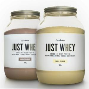 Just Whey - GymBeam 1000 g Vanilla Ice Cream