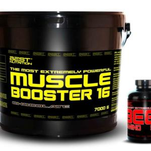 Muscle Booster + BEEF Amino Zdarma - Best Nutrition 7