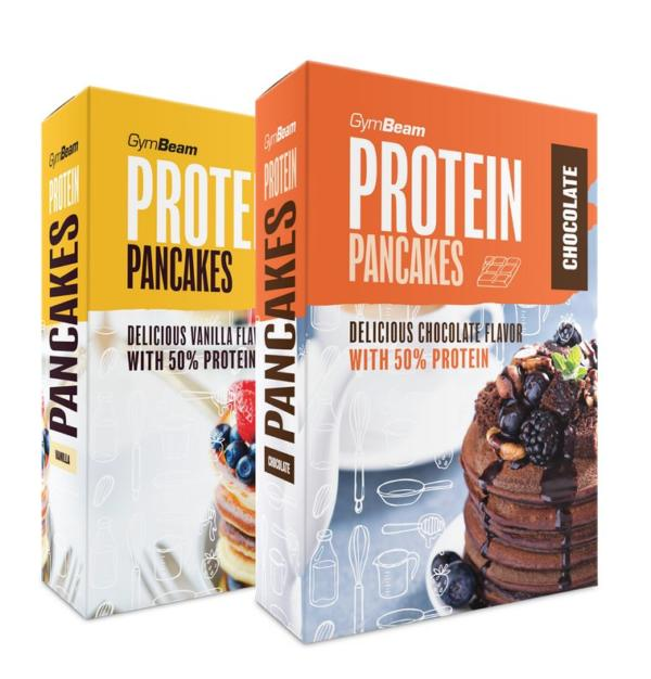 Protein Pancake Mix - GymBeam 500 g Natural